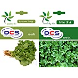 DCS Arave Sag (Pack Of 1 Gram) & Methi Seeds(Pack Of 50 Seeds)