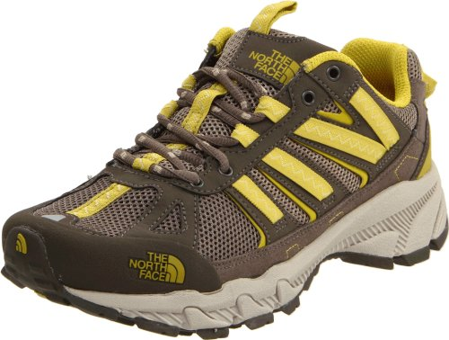 The North Face Women's Ultra 50 Trail Running Shoe,Shroom Brown/Citronelle Green,9 M US