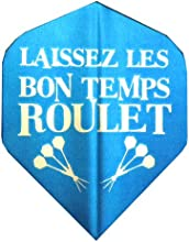 5 Sets 34595 AmeriThon Let The Good Times Roll - French in BlueEnglish in Red Dart Flights