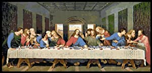 Free Cross Stitch Pattern Free Download The Last Supper