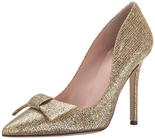kate spade new york Women's Layla Dress Pump,  Gold, 8 M US