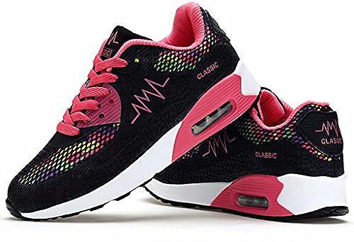 8. DADAWEN Women's Mesh Air Max Sneakers Running Shoe
