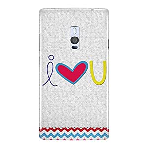 a AND b Designer Printed Mobile Back Cover / Back Case For OnePlus 2 (1Plus2_3D_437)