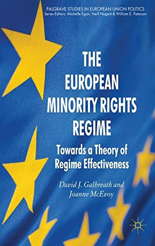 The European Minority Rights Regime: Towards a Theory of Regime Effectiveness (Palgrave Studies in European Union Politics)
