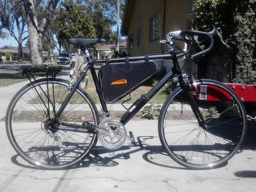 Buy Ibera Bicycle Triangle Frame Bag Large Best Folding Bike