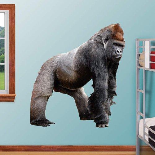Gorilla - REAL BIG Fathead Wall Graphics - Dimensions: (W x H) 4'9