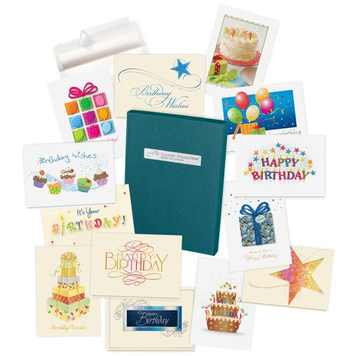 Birthday Cards Assortment Box - 35 High Quality