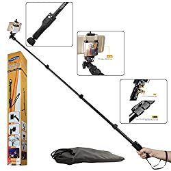 Selfie Stick, DMG Yunteng VCT 388 Pro Handheld Extendable Selfie Stick for Cameras and Cellphones with Bluetooth Camera Remote