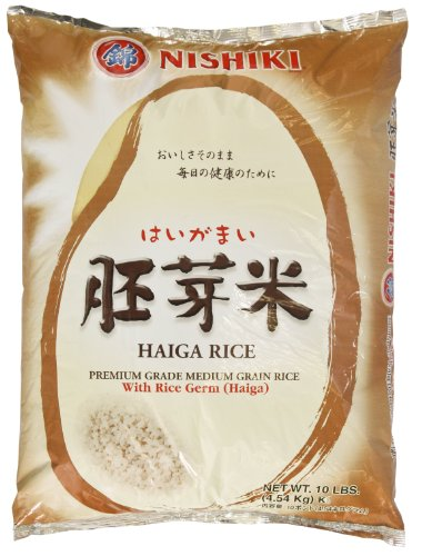 Nishiki Haiga Rice, 10-Pounds (Haiga Brown Rice compare prices)