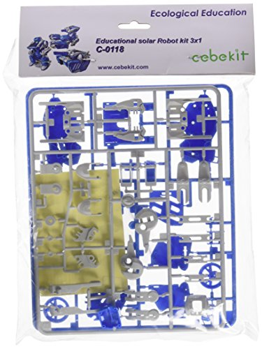 "Cebekit - Tu robot solar ""Transforming"", juguete educativo (Fadisel C-0118B)"