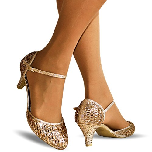 rock-on-styles-ladies-sparkly-diamante-gold-silver-ankle-strap-party-mid-low-heel-court-shoes-k429-u