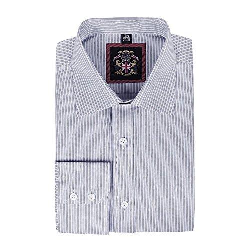 janeo-mens-shirts-camicia-classiche-a-righe-maniche-lunghe-uomo-grey-single-cuff-5334-cm