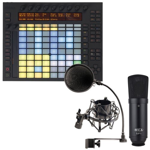 Ableton Push Controller And Sp1 Mic Kit Package