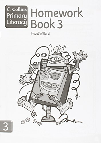 Collins Primary Literacy - Homework Book 3: Homework Book Bk. 3