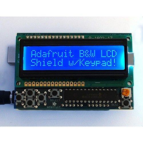 Adafruit Industries 16 X 2 Lcd Display Blue On White