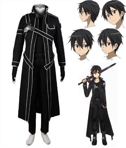 sword-art-online-sao-kirito-uniform-cosplay-costume-and-wig-in-size-xl