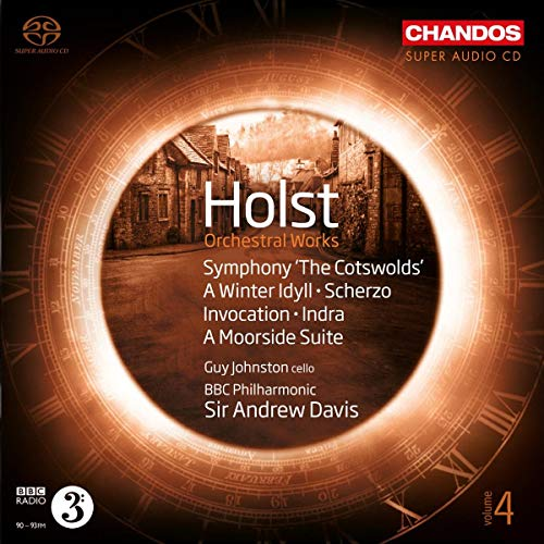 SACD : HOLST / JOHNSTON / BBC PHILHARMONIC - Orchestral Works 4