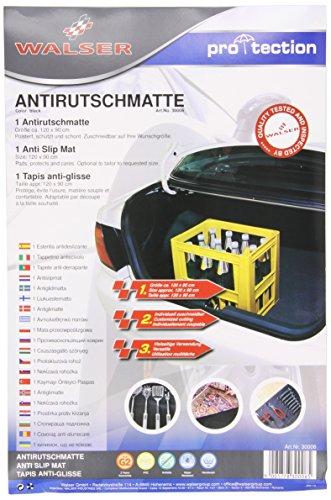 Walser 30006-1 Kofferraummatte, Kofferraumschutz 120 x 90 cm