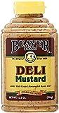 BEAVER Deli Mustard 12.5 OZ