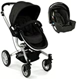 GRACO SYMBIO B COMPLETE TRAVEL SYSTEM - URBAN WITH, CARSEAT, CHANGING BAG, COCOON FOOTMUFF, CARSEAT RAIN COVER