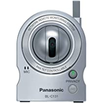 Panasonic BL-C131A Network Camera Wireless 802.11