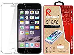 Raydenhy 2.5D Curved Edges 0.33MM Thickness Tempered Glass For Apple iPhone 6 Plus