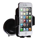 wortek-Premium-KFZ-Halterung-mit-Kugelgelenk-fr-Samsung-Handy-Apple-Smartphone-LG-Sony-Huawei-HTC-kompatibel-mit-Case-Tasche-Hlle-Bumper-schwarz