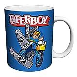 Midway Arcade Treasures Paperboy Classic Video Game Gamer Ceramic Gift Coffee (Tea, Cocoa) 11 Oz. Mug