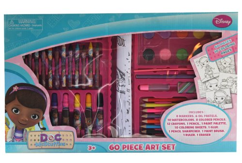 Tri-Coastal Design -Toys Doc McStuffins 60-Piece Art Set - 1