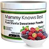 Pure Stevia Powder Extract Sweetener - Zero Calorie Sugar Substitute - No Artificial Ingredients