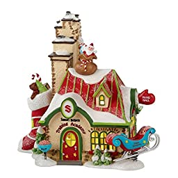 North Pole Village from Department 56 Santa\'s Helpers Training Arcade