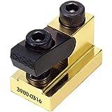 "VERTEX 3900-0314 Steel T-Slot Clamping Nut Kit, 4-piece, 7/16"""