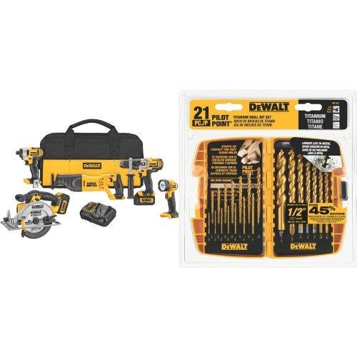 DEWALT-DCK590L2-20-Volt-MAX-Li-Ion-30-Ah-5-Tool-Combo-Kit