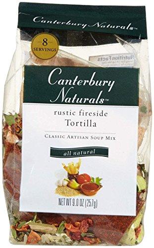 Canterbury Naturals Classic Artisan Soup Mix, Rustic Fireside Tortilla, 9.0 Oz