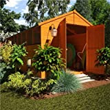 BillyOh 16' x 8' Lincoln Tongue And Groove Double Door Apex Wooden Garden Shed