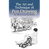 The Art and Technique of Pen Drawing (Dover Art Instruction) ~ G. M. Ellwood