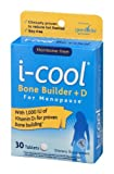 i-cool Bone Builder + D For Menopause Dietary Supplement Tablets - 30 CT
