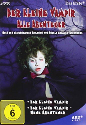 Der kleine Vampir - Alle Abenteuer [4 DVDs]