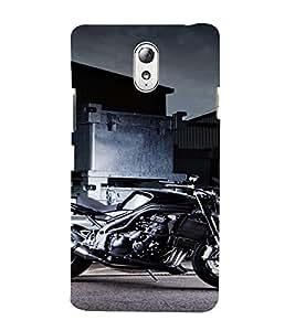 PrintVisa Sports Bike Design 3D Hard Polycarbonate Designer Back Case Cover for Lenovo Vibe P1M