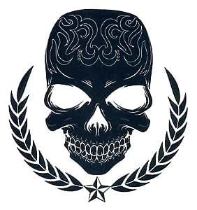 Amazon.com : Tribal Skull : Temporary Tattoos : Beauty