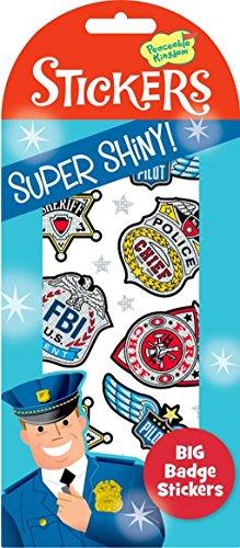 Peaceable Kingdom Super Shiny! Foil Big Badge Sticker Pack