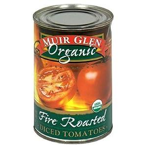 Muir Glen Diced Fire Roasted Tomato (12x14.5 Oz)