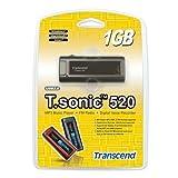 Transcend TS1GMP520 T.sonic 520 MP3ポータブルプレーヤー