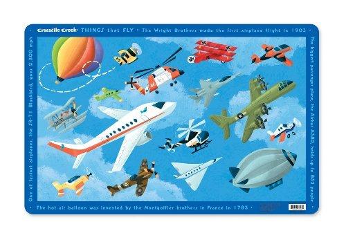 Crocodile Creek Airplanes Placemat