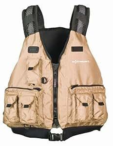 Extrasport striper kayak fishing type iii pfd for Fishing vest amazon