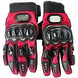 Benjoy Pro Biker Bike Riding Full Gloves (Size M ,Colour Red) For KTM RC 200