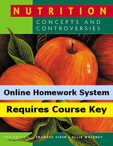 Cengagenow Online Homework System With Ebook, Infotrac 1-Semester To Accompany Sizer/Whitney'S Nutrition: Concepts And Controversies [Instant Access]