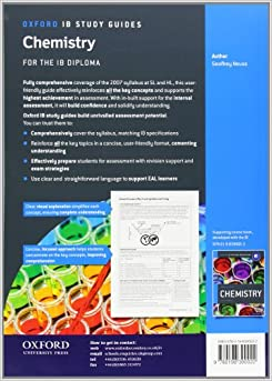 Chemistry Ib Study Guide