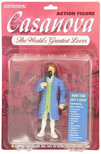 Accoutrements Casanova Action Figure - 1