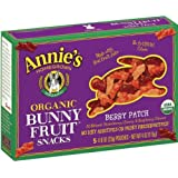Annie's Homegrown Organic Bunny Fruit Snacks Berry Patch -- 0.8 oz Each / Pack of 5